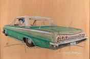 Autumn's Impala illustration