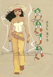 Bandita illustration by Aaron Kirby