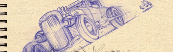 Hot Rod sketch
