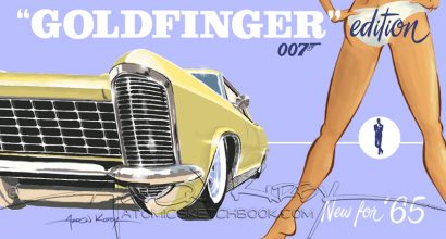 Goldfinger poster (early draft)