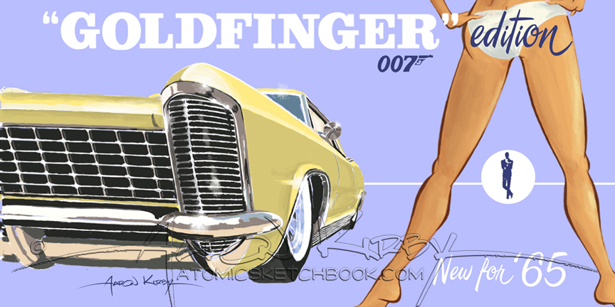 Goldfinger 2 by Aaron Kirby
