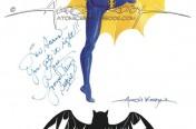 Yvonne Craig batgirl painting