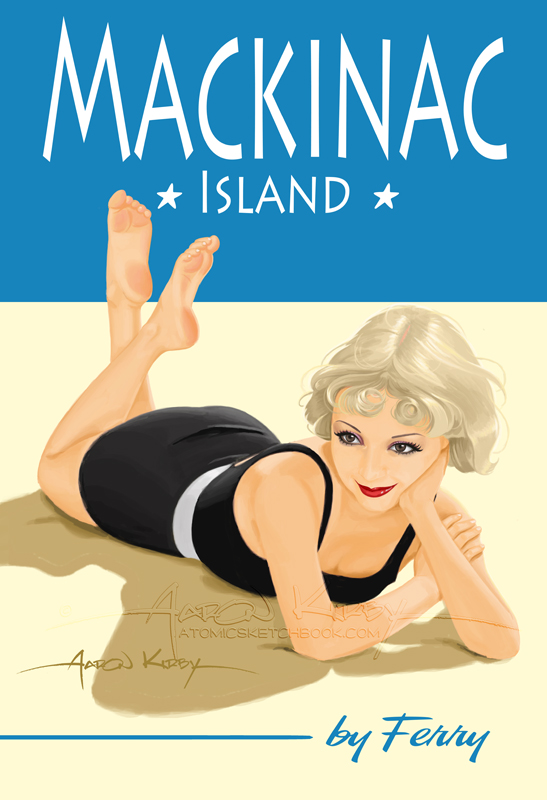 Mackinic pin up
