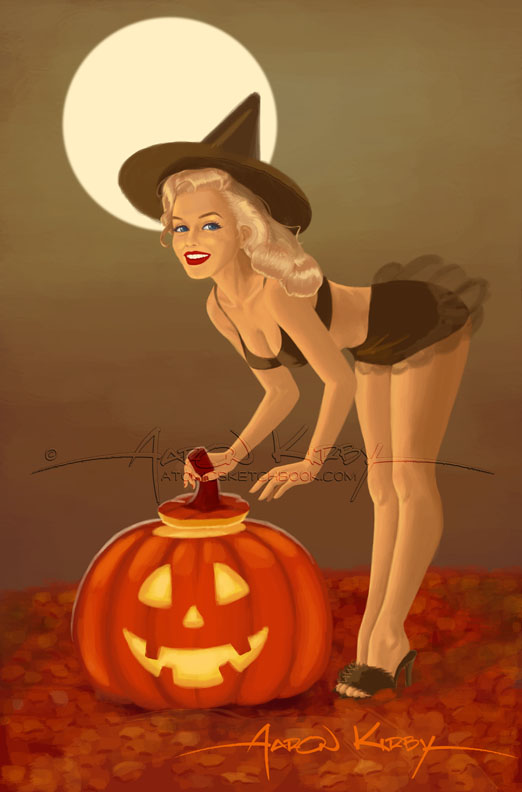 Norma Jeane Halloween2