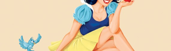 Snow White pin up